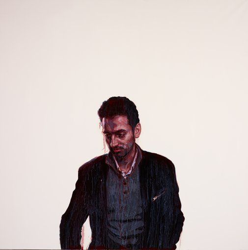 Portrait of Waleed Aly Archibald Prize Art Gallery of NSW
