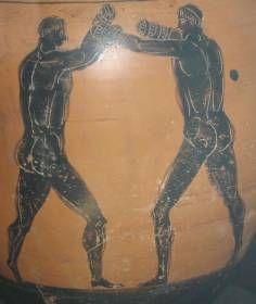 La Grèce antique - Deux pugilistes (musée du Louvre)