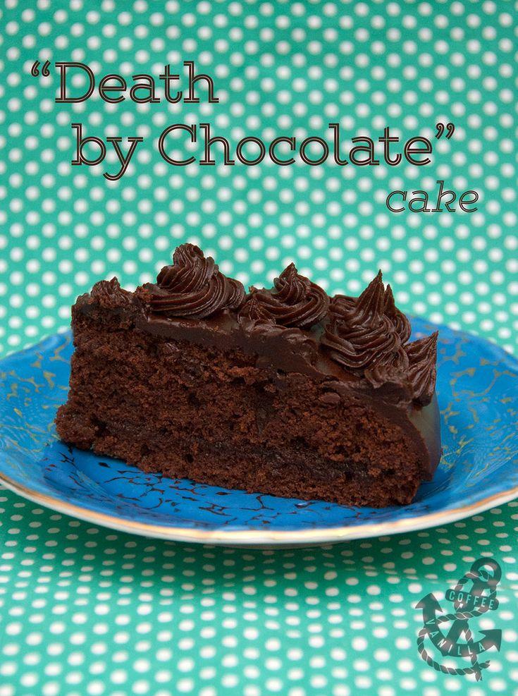 Death by Chocolate - Seriously Chocolatey Orange & Vanilla Cake