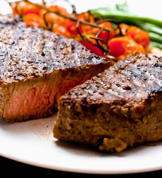Pittsburgh Style Caramelized New York Strip