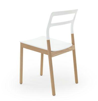 Florinda Stackable chair - Wood & plastic
