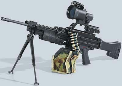 World of Machine Guns (MG & LMGs)    The best and the most