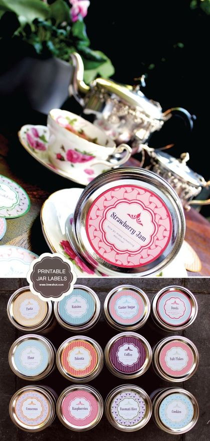 Homestead Survival: Free Printable Mason Jar Labels
