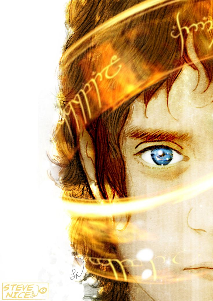 "Frodo Baggins Coloured by Steve-Nice.deviantart.com on @deviantART - From ""The Lord of the Rings"""