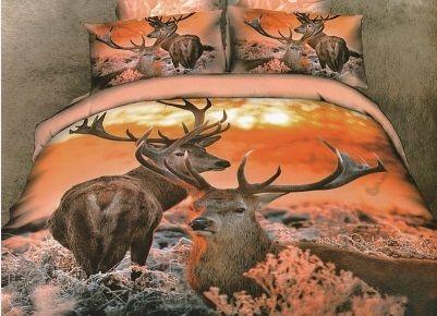 Pościel 3D jelenie. Dostępna w sklepie kasandra.com.pl