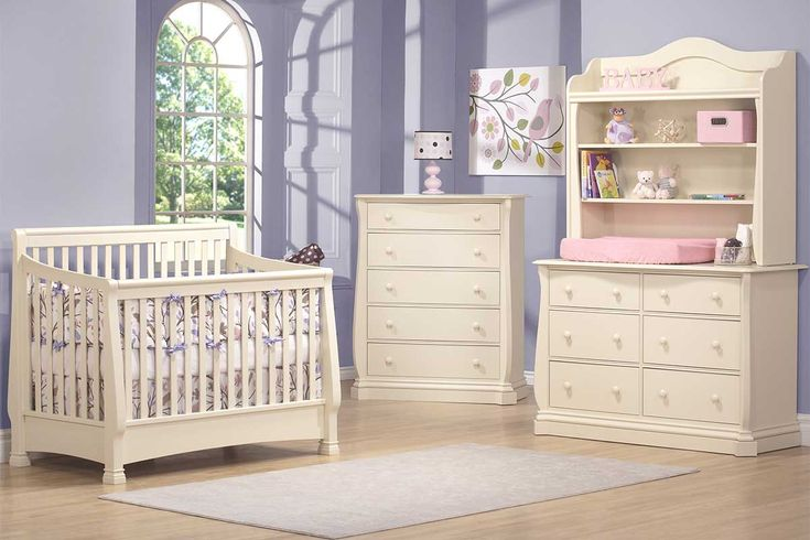 Tuscany with convertible baby crib and full furniture set