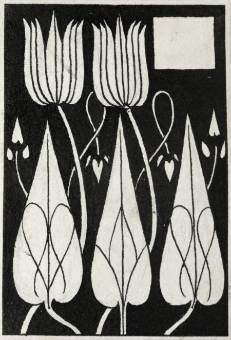 FLOWERS by AUBREY BEARDSLEY