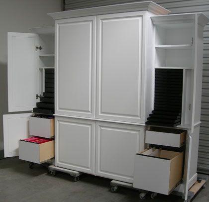 Hobby Hideaway - My dream crafting cabinet!