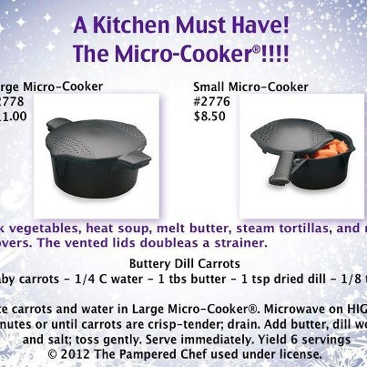 How To Use Pampered Chef Micro Cooker