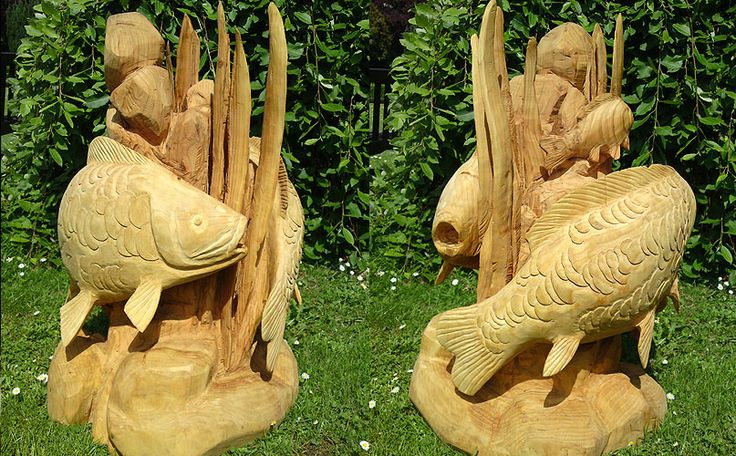 Best tree stump sculptures images on pinterest