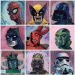 Superhero Portraits by Rich Pellegrino
