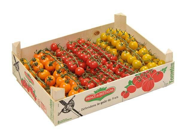 Mixed french cherry tomatoes