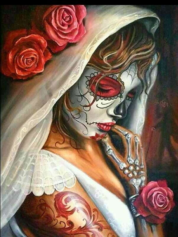 Beautiful Sugar Skulls Drawings Beautiful Mexic...