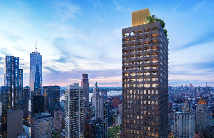 New Renderings Reveal the Design of Adjaye's First New York Residential Tower