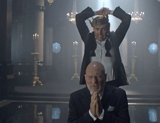 David Tennant and Sir Patrick Stewart in Hamlet...been wanting to watch this! has a link so you can watch online