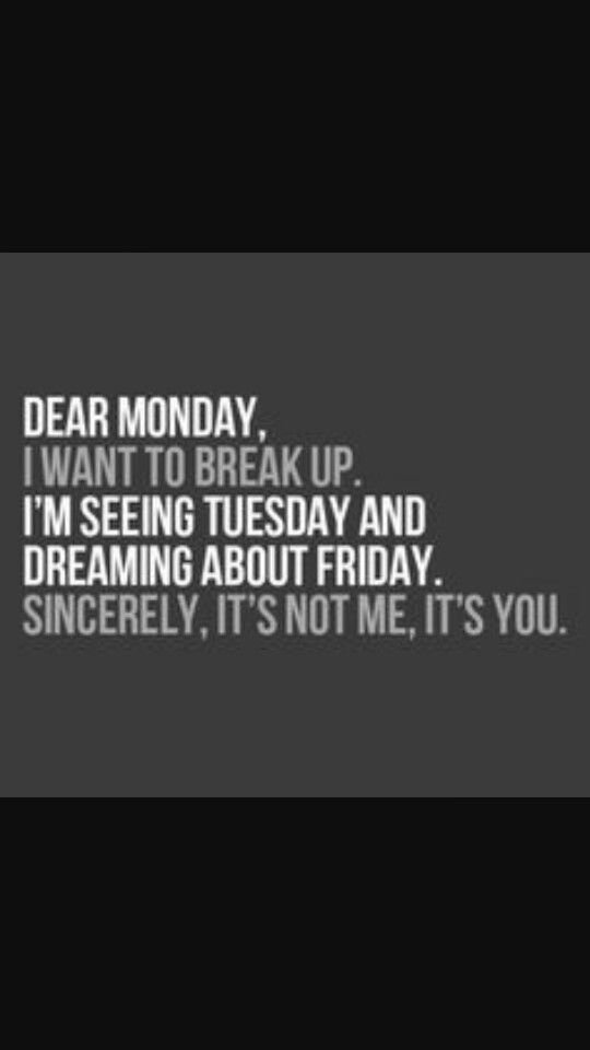 Hate Mondays!!