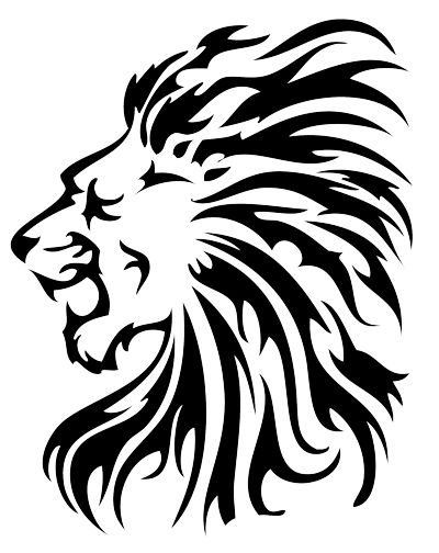 Tribal Lion Tattoo Outline Tribal tattoos - photos