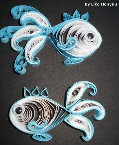 quilled fish! by BettyBoop4w33t4