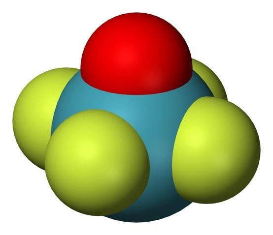 XeOF4 - Xenon oxytetrafluorideXeof4 Molecular Geometry