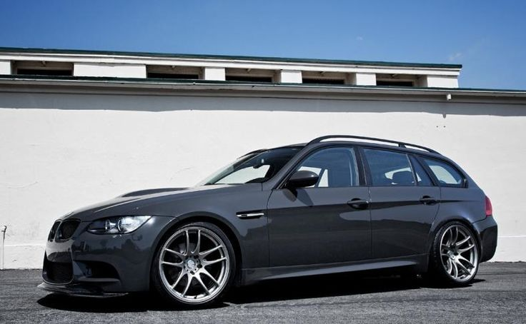 custom 3-series wagon with M3 front end