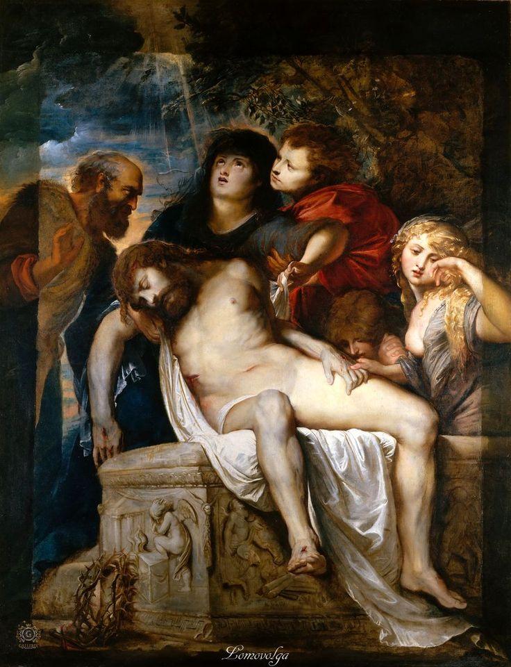 Питер Пауль Рубенс Оплакивание Христа Галерея Боргезе, Рим (Galleria Borghese, Roma). 1602. 180х137