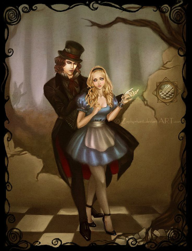 Alice and the Mad Hatter Dance