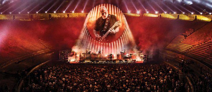 «Nel 2015 David Gilmour decise di suonare una serie di concerti in location dall'alto valore storico in tutto il mondo. L'anno seguente è diventato il primo artista a esibirsi nell'anfiteatro di Pompei di fronte a una platea dai tempi dei gladiatori, nel 79 d.c.. Si è trattato di un ritorno per Gilmour perché ovviamente si …