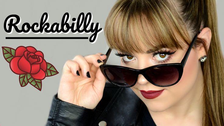 Rockabilly Makeup Tutorial! | youtube.com/facesbycaitb