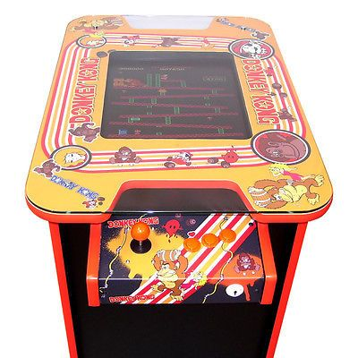 #Donkey kong #arcade machine - 60 retro #games - free shipping - 2 yr guarantee,  View more on the LINK: http://www.zeppy.io/product/gb/2/321898698211/