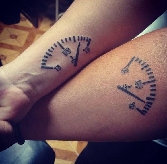 Couple Tattoos Best Couple Tattoos Disney Couple Tattoos