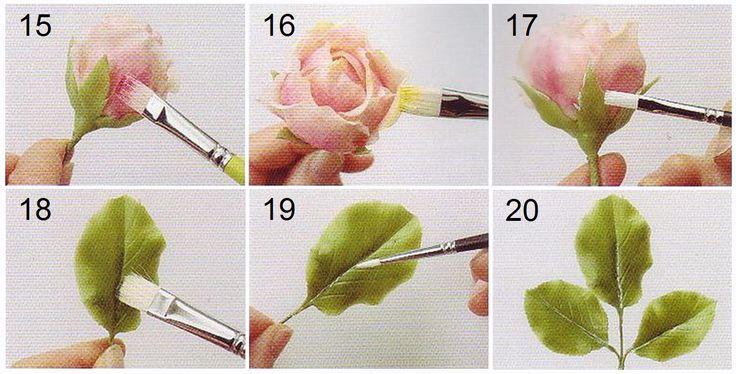 простой и подробный мастер-класс по лепке  цветов из полимерной глины и холодного фарфора, искусственные цветы своими руками, шикарная реалистичная роза