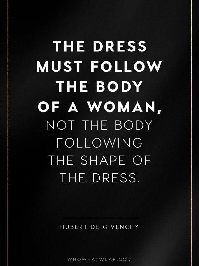 The 25+ best Fashion designer quotes ideas on Pinterest
