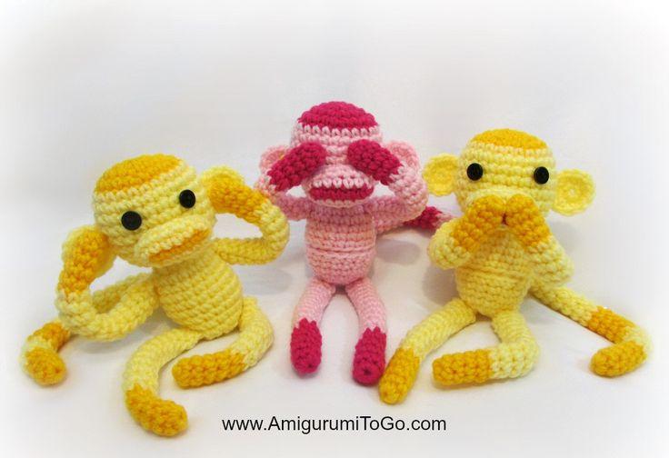 Amigurumi Go Monkey : 368 best images about Haken on Pinterest Free pattern ...
