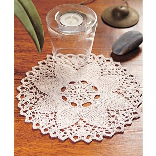 Free Knitting Pattern Lace Doily : 17 Best images about Crochet/Knit Doilies on Pinterest ...