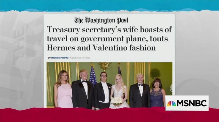 Rachel Maddow emphasizes the gravity of Donald Trump's Afghanistan speech and contrasts it with an item about Trump Treasury Secretary Steve Mnuchin's wife responding to criticism by boasting about how much more money she and her husband pay into the...