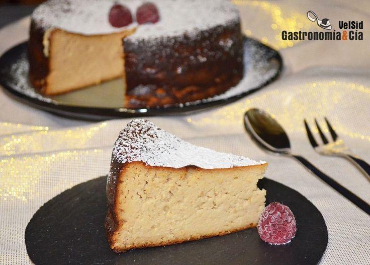 Tarta de queso y turrón de Jijona | Gastronomía