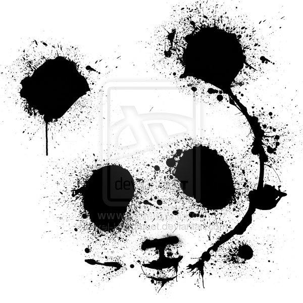 Panda: Tees Shirts, Pandas Tattoo, Pandas Create, Art Prints, Tattoo Pandas, Pandas Bears, Axel Haudiquet, Pandas Art, T Shirts
