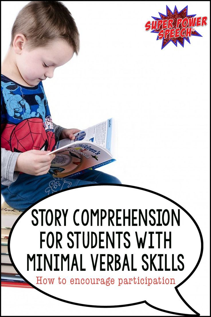 Students With Minimal Verbal Skills Need To Access Books! There Are So Many  Ways To