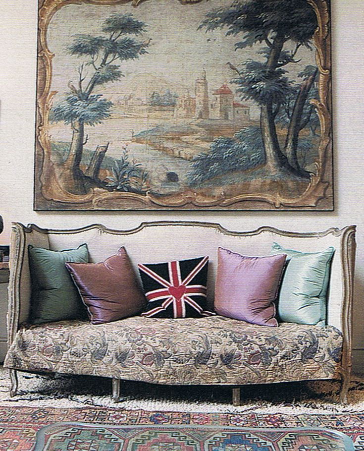 Union Jack Decorative Throw Pillows Have British Style Are More Fit For A Queen English Decorating Is Specialty Of