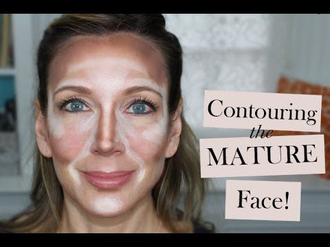 How to Contour the Mature Face | Contouring & Highlighting Tutorial - YouTube