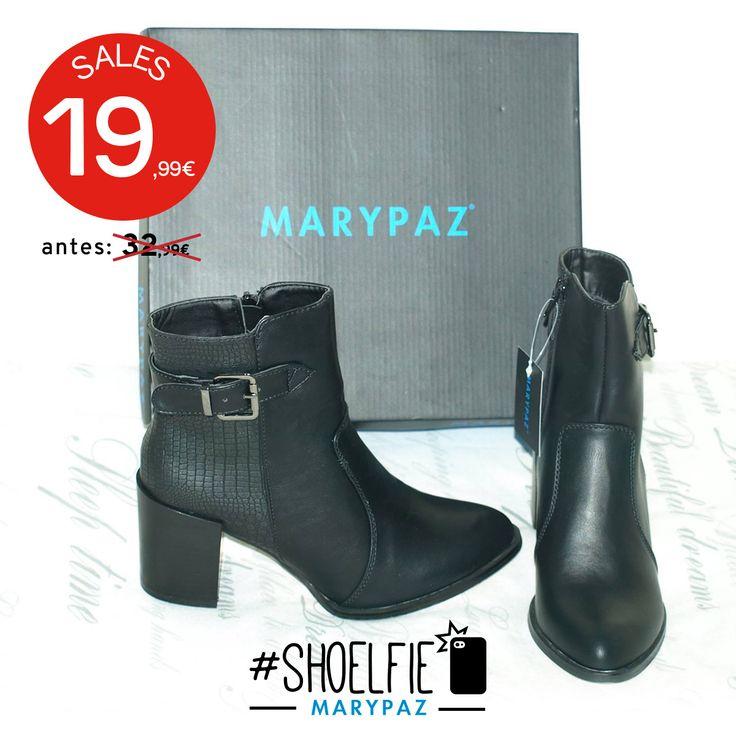 HASTA 50% DTO.¡¡REBAJAS MARYPAZ!! En tiendas físicas y online  #Shoelfie de nuestra amiga Chari Perez con sus nueva adquisición  Hazte con esta BOTÍN HEBILLA aquí ►http://www.marypaz.com/woman/botin/botin-textura-reptil-0135616i059-75084.html  #SoyYoSoyMARYPAZ #Follow #winter #love #fashion #colour #tendencias #marypaz #locaporlamoda #BFF #igers #moda #zapatos #trendy #look #itgirl #invierno #AW16 #igersoftheday #girl  **Promoción válida desde el 07 de enero.