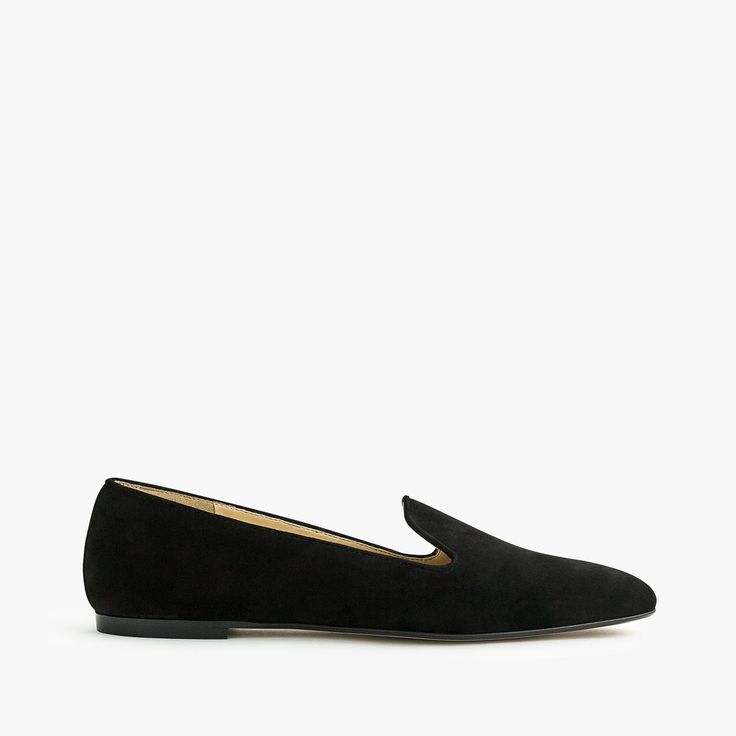 J.Crew - Suede smoking slippers