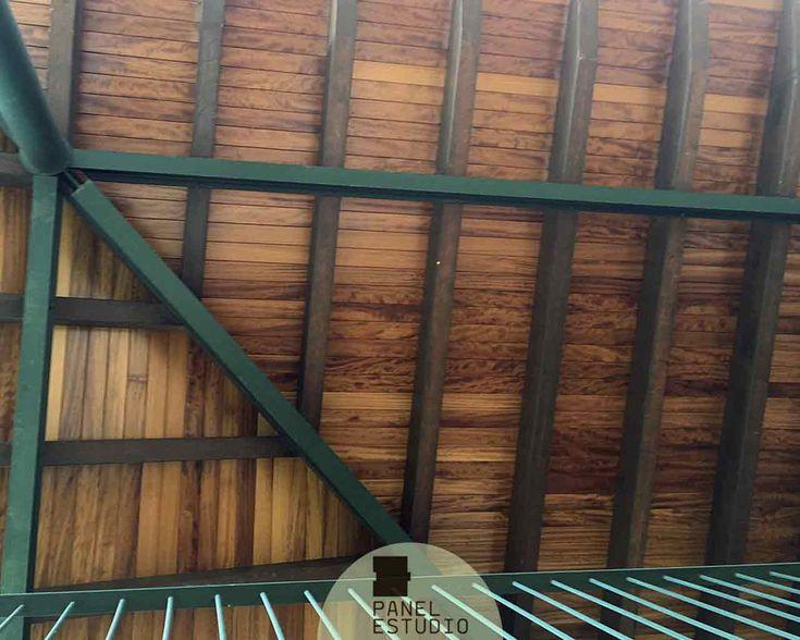 25 ideas destacadas sobre cubierta de madera en pinterest for Sandwich para tejados de madera