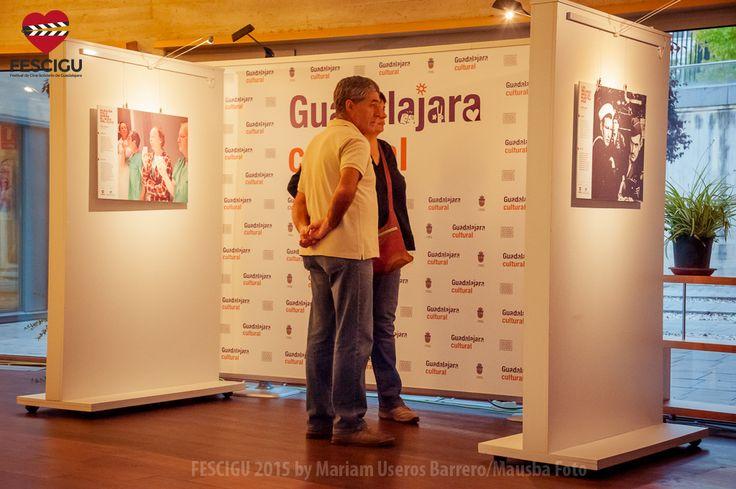 Exposiciones FESCIGU. 'Cine y discapacidad'. Fecha: 30/09/2015. Foto: Mariam Useros Barrero/Mausba Foto.