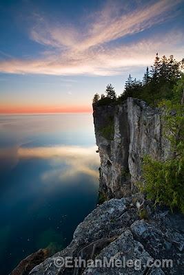 Halfway Rock, Bruce Peninsula National Park, Tobermory (links to his blog and more beautiful photos!)