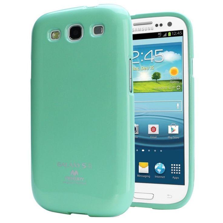 Mercury/Goospery Jelly Case [Miętowe], Silikonowe etui dla Samsung Galaxy S3