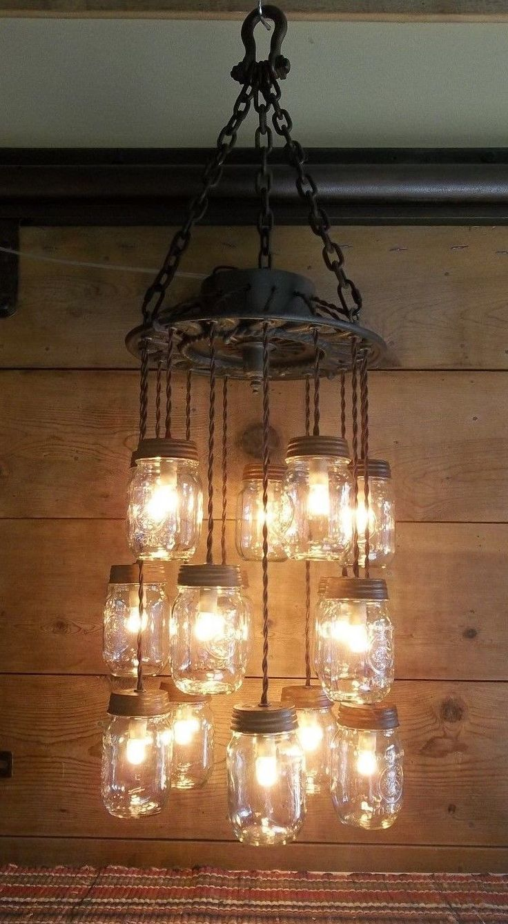 Best 25 mason jar chandelier ideas on pinterest mason jar light antique cast iron heat vent cover grate 15 mason jar chandelier vintage light ebay arubaitofo Image collections