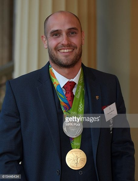 British Olympic athlete Liam Heath arrives at a reception for Team GB's Olympic and Paralympic teams hosted by Queen Elizabeth II at Buckingham...