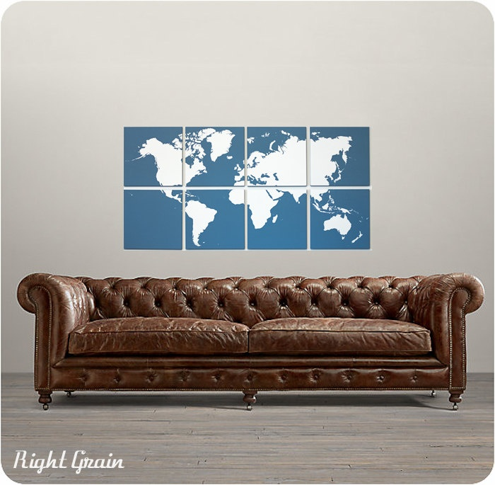 119 best baby nursery world theme images on Pinterest Child room - fresh world map outline decal