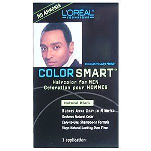 LOREAL Color Smart Haircolor for Men Natural Black (One Application)  //Price: $ & FREE Shipping //     #hair #curles #style #haircare #shampoo #makeup #elixir